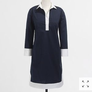J.Crew Factory Tipped Tunic Dress-2
